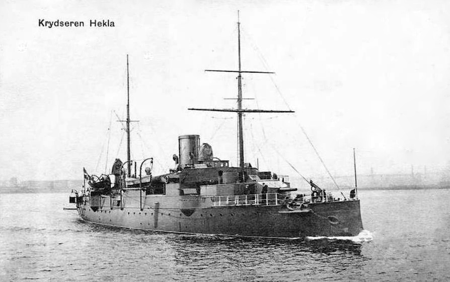 Danish Cruiser Hekla