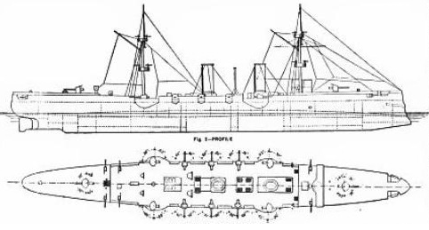 Line drawing of the Piemonte