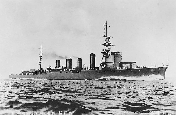 Sendai Class Cruisers 1923 Naval Encyclopedia