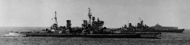 KGV in Tokyo Bay, September 1945