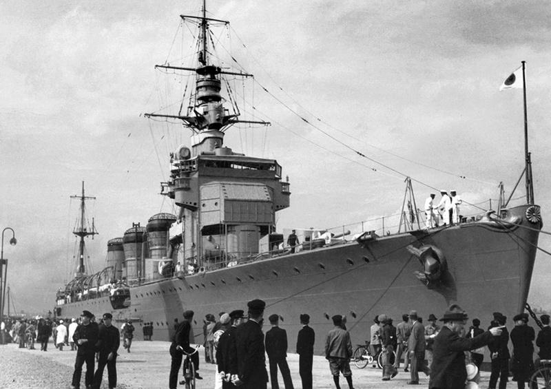 Kiso in harbour