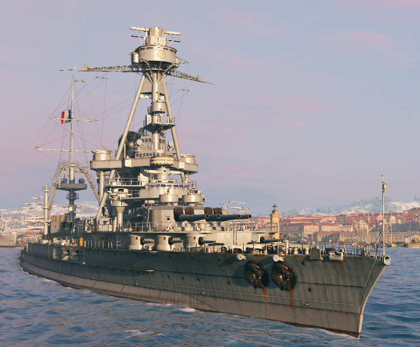 Battleship Normandie