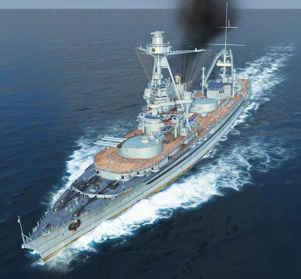 Battleship Normandie