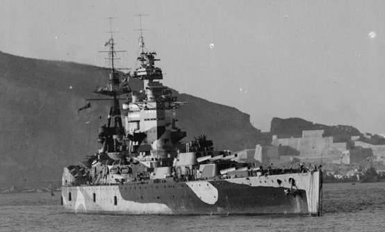 HMS Nelson Operation Torch