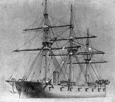 HDMS Peder Skram, 1864.