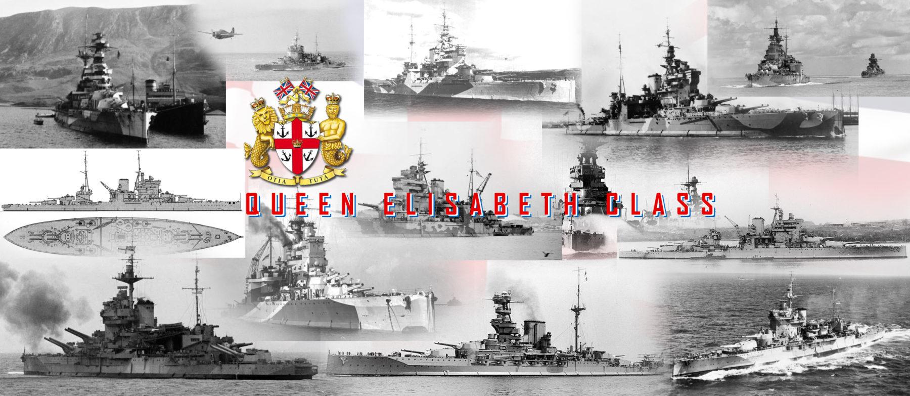 Queen Elizabeth class Battleships (1913)