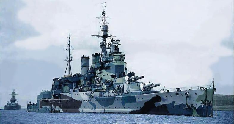 Royal Navy Capital Ships Ww2 British Battleships