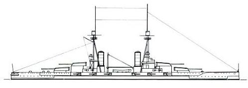 Salamis class battleship final design