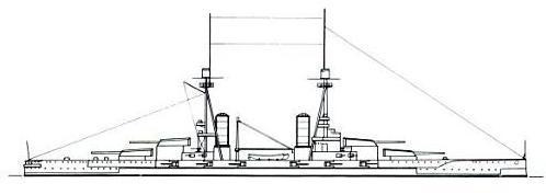 Salamis class battleship final design