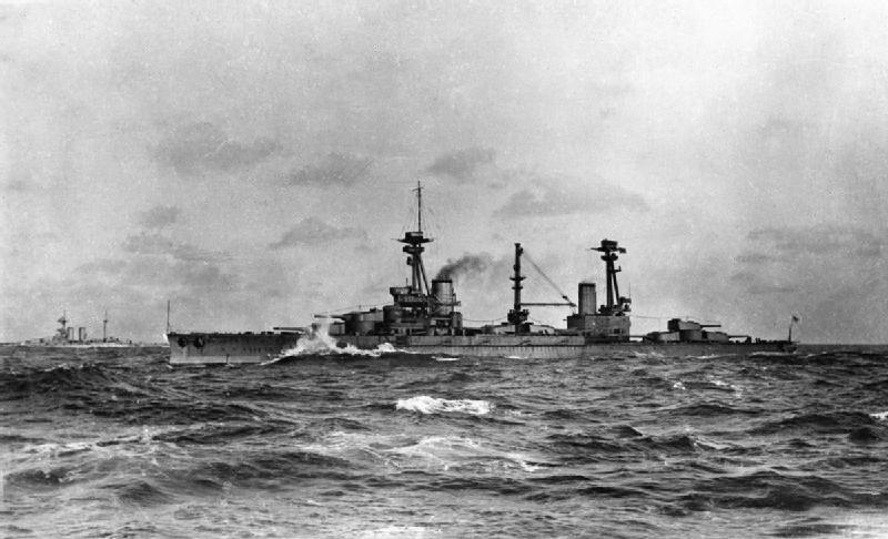 HMS Agincourt 1915