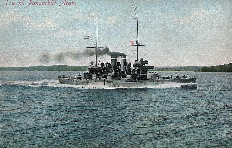 Coastal Battleship HMS Aran