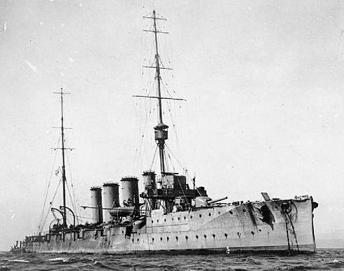 HMS Glasgow 1909