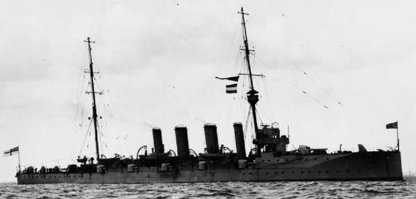 HMS Newcastle 1909