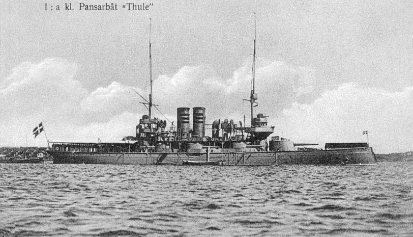 Coastal Battleship HMS Thule