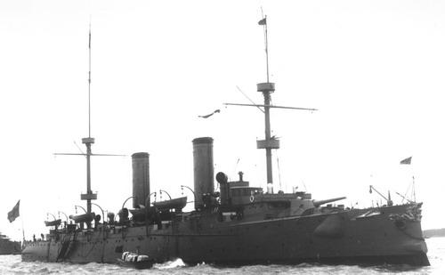 Croiseur Chinois Hai Chi (1898)