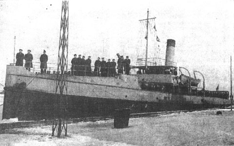 Romanian minelayer Aurora
