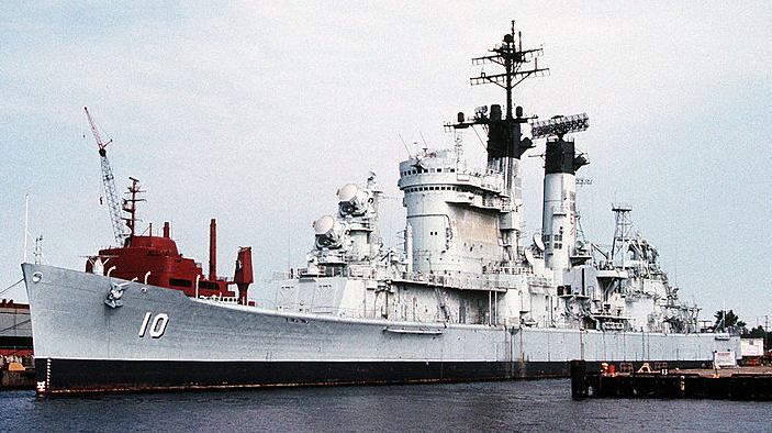 USS Albany 1989