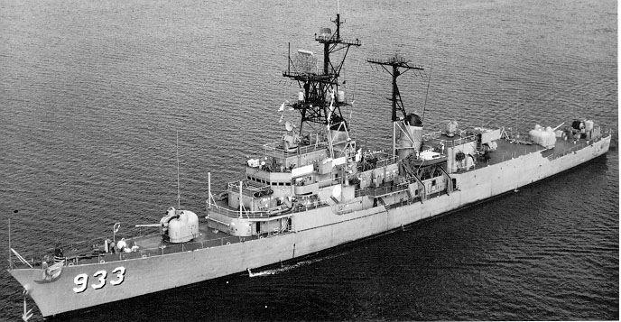 USS Forrest Sherman, 1959