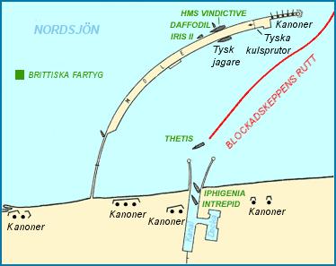 More detailed map of Zeebruge