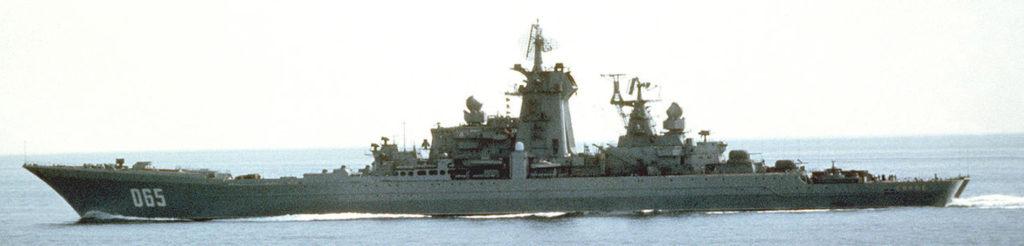 Kirov underway
