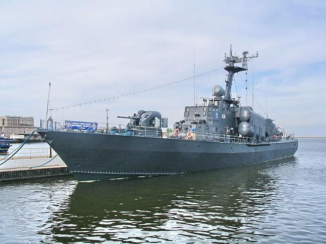 Metalowiec in Gdynia, Tarantul class Corvettes