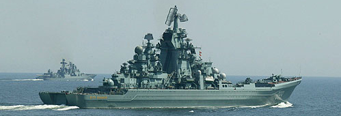 Kirov in tactical exercizes