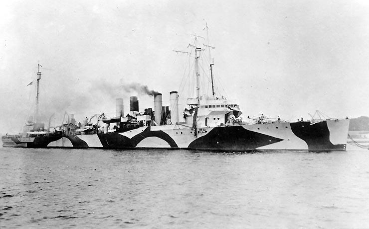 USS caldwell, DD-69