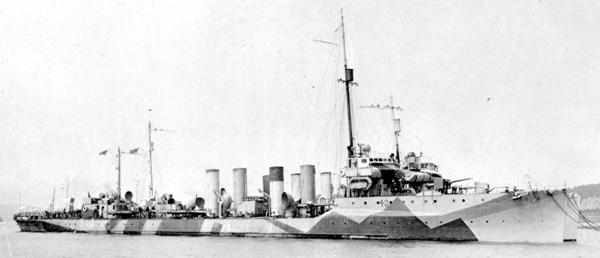 USS cassin 1918