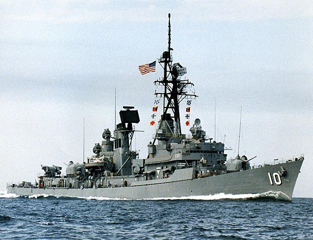 Charles F. Adams class destroyers