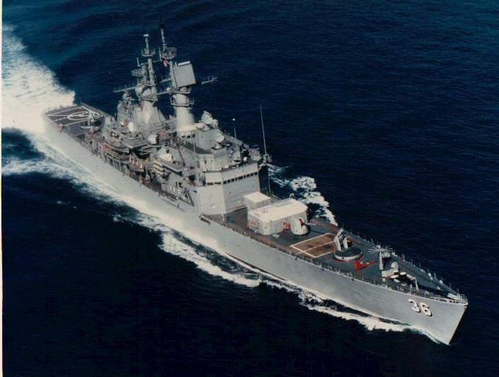 Cruiser USS California