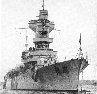 French cruiser Algérie