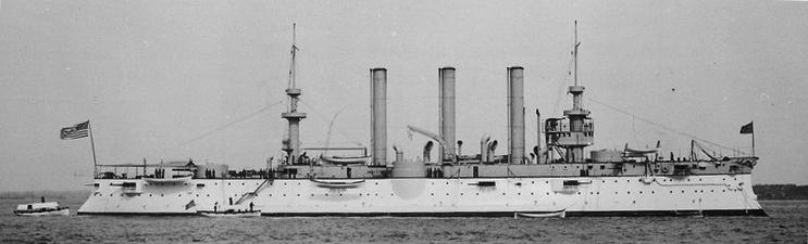 USS Brooklyn 1899