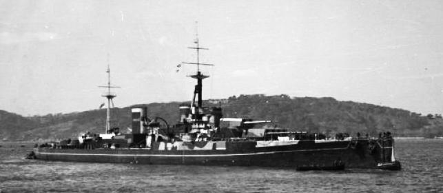HMS Centurion Masqueraded as HMS Anson 1942