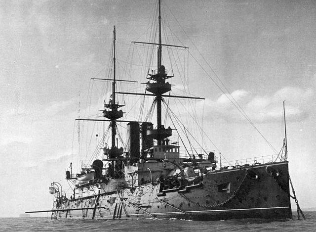 HMS Jupiter in 1897