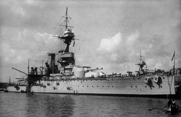 HMS Ajax in 1913