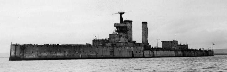 HMS Centurion in 1930