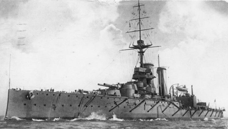 HMS King Georges V in 1911