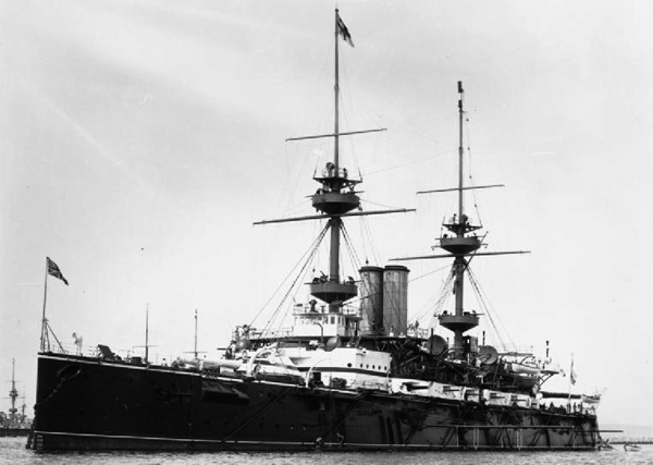 HMS Magnificient in 1899 - IMW
