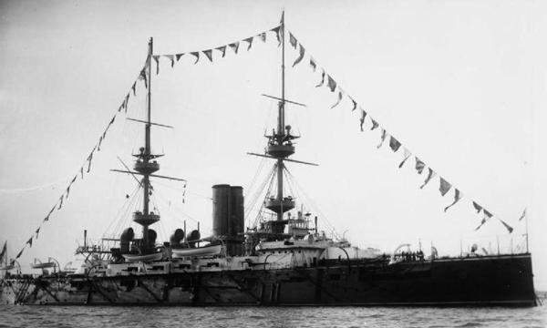 HMS Victorious 1898