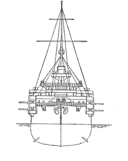 Habsburg class bow