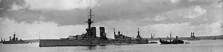 HMS King Georges V at Scapa Flow