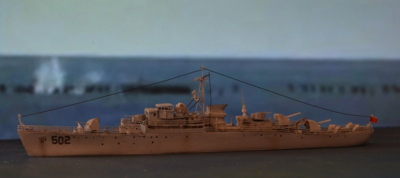 Model kit of Nanchong