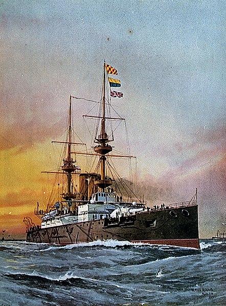 HMS Prince George Painting