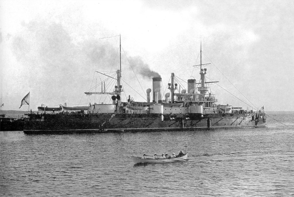 Sevastopol at Kronstadt in 1900