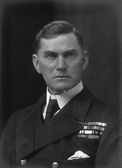 Vice-admiral Trevylyan-Napier