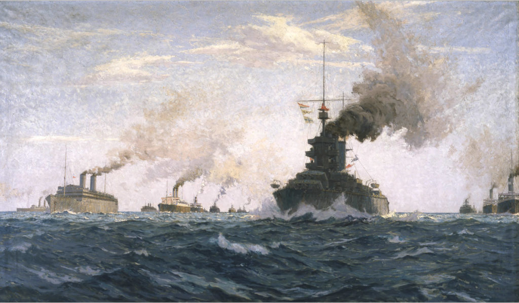 Convoy escort in the atlantic