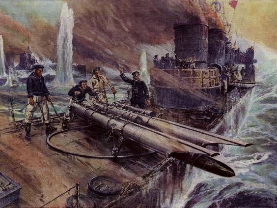 German High seas TB at Jutland
