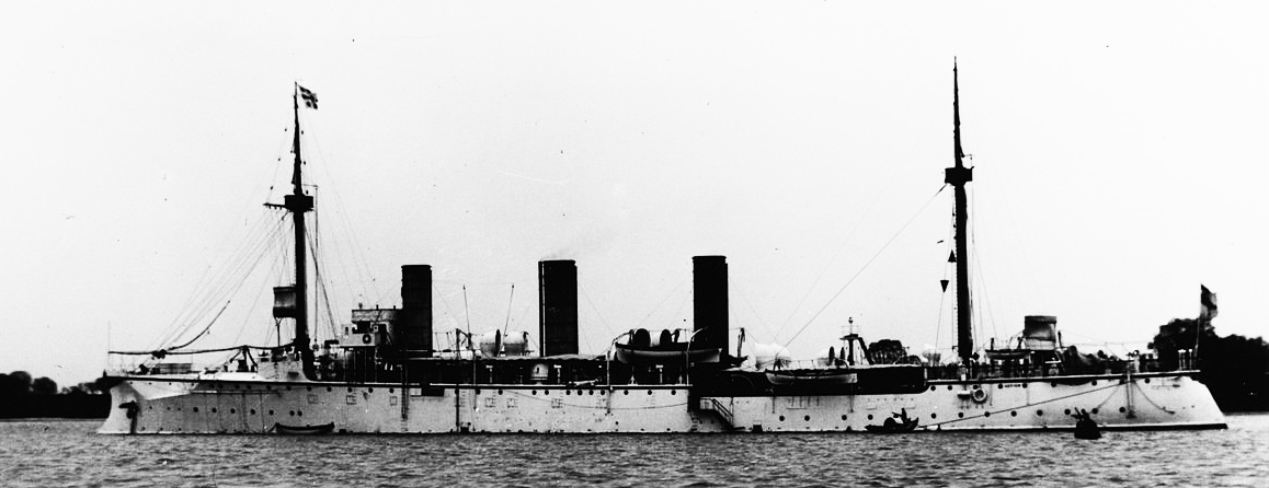 SMS Gefion at the China station