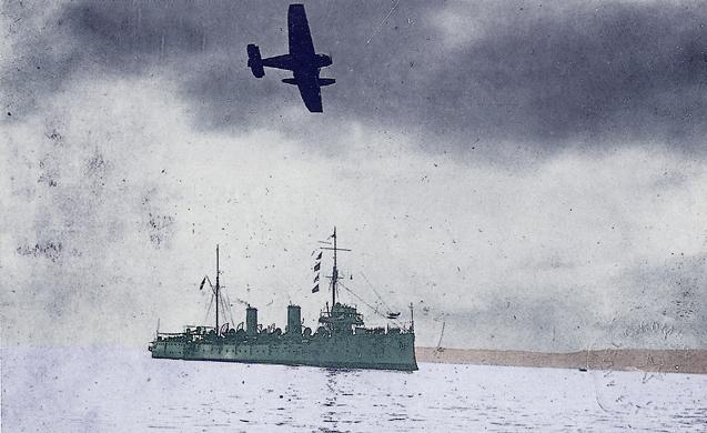 BAP Almirante Grau in the 1920s