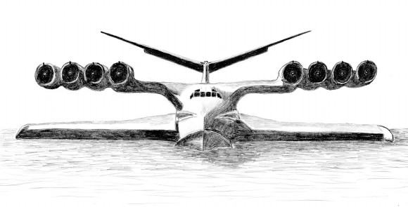 Ekranoplane KM